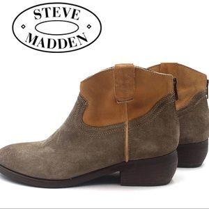 Steve Madden Midnite Cowboy booties
